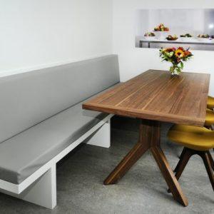 Binnenkijken in ... een woning met eetkamerbank op maat in Hoograven, Utrecht na STIJLIDEE Interieuradvies | Mooi Ruim