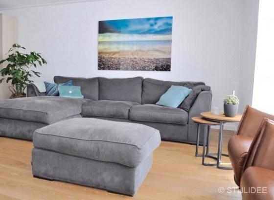 Binnenkijken in ... een woonkamer met lounge bank en design fauteuils in Houten na STIJLIDEE Interieuradvies en Styling