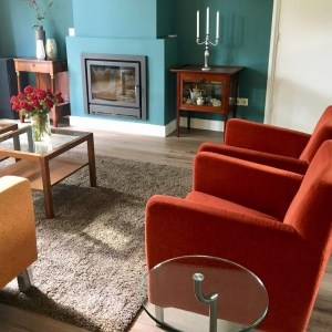 Binnenkijken in ... een woonkamer in modern kleurrijke stijl in Baarn na STIJLIDEE Kleuradvies