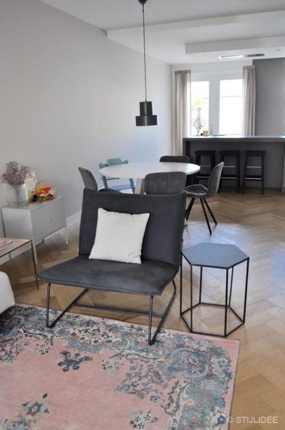 Binnenkijken in ... een jaren 30 huis met eiken visgraat vloer in Bilthoven na STIJLIDEE Interieuradvies en Styling