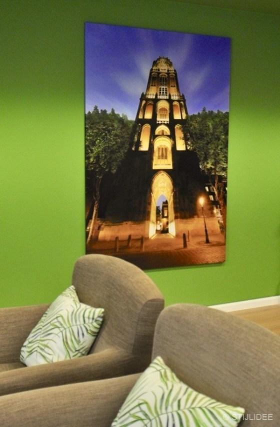 Binnenkijken in ... een groen kantoor in Utrecht na STIJLIDEE Interieuradvies en Styling