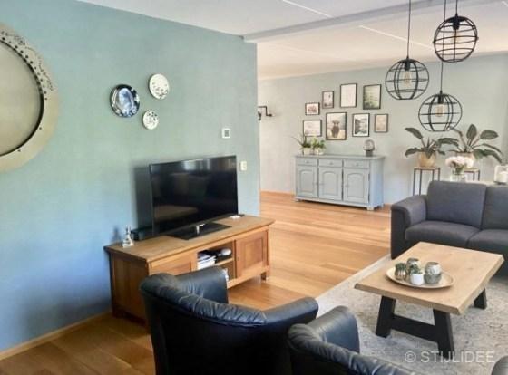 Binnenkijken in ... een woonkamer in modern landelijke stijl in Lelystad na STIJLIDEE Interieuradvies en Styling