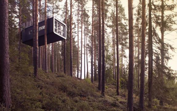 Cubis boomhut van Treehotel Zweden