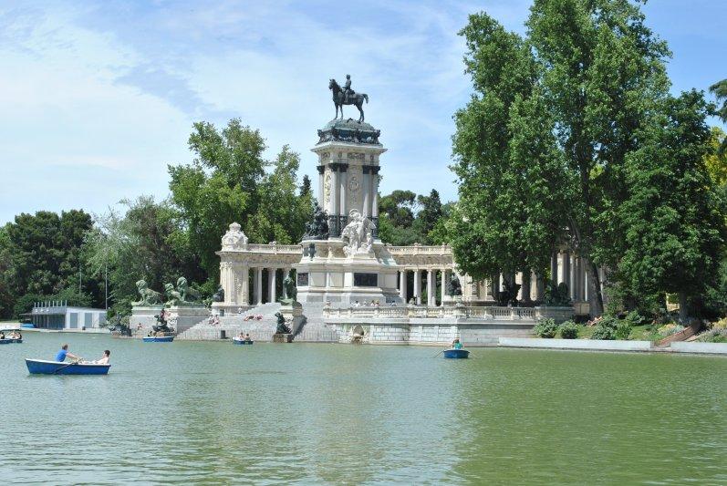 Retiro Park -Madrid Photo Stijlmagazine