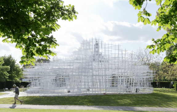 Sou Fujimoto designed the Serpentine Gallery Pavilion 2013-Photo@IwanBaan