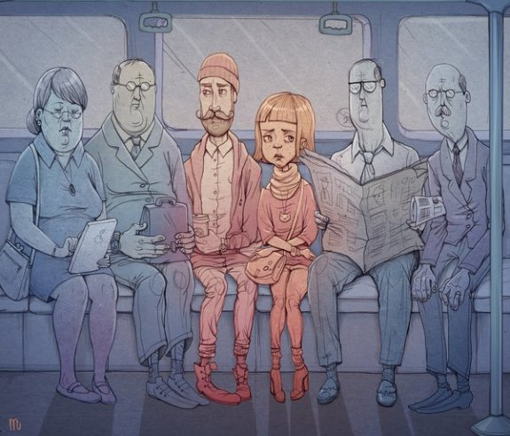 Stijlmagazine-The zombies of everyday commuting- Marija Tiurina.1