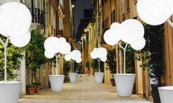 de aangeklede straatjes in Milaan
