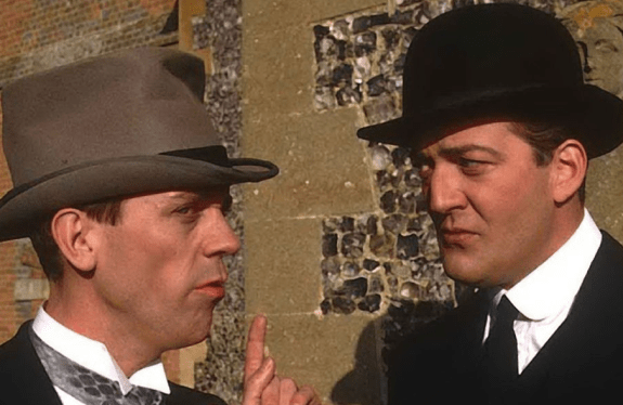 Bolhoed mannen Bertie Wooster en Reginald Jeeves