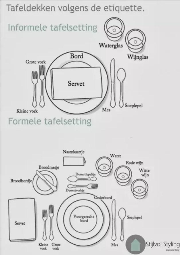 Feest styling & DIY | Tafeldekken en servetten vouwen volgens de etiquette