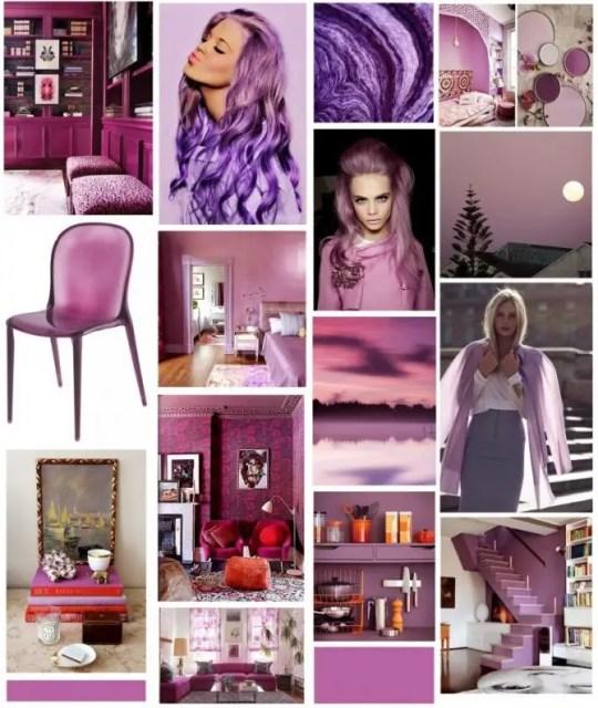 Interieur | Radiant Orchid = kleur van het jaar 2014!