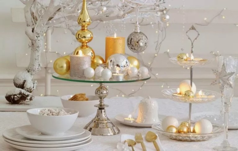 Feest styling | De mooiste kersttafels, centerpieces en tafeldecoraties