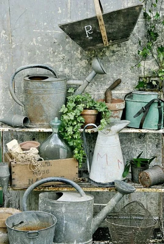 Vintage tuin - tuintrends 2015 - Stijlvol Styling Woonblog