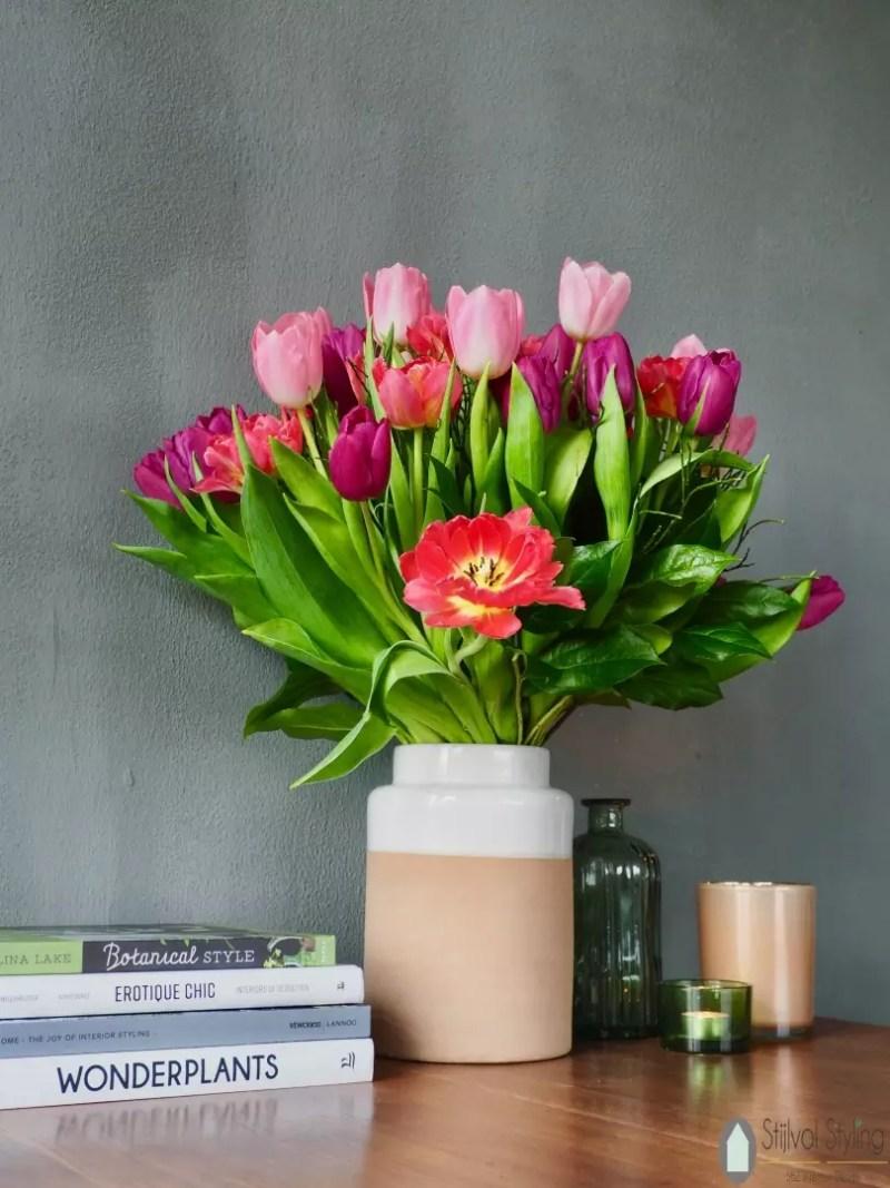 Interieur   'Hollandse' tulpen in jouw interieur - Woonblog StijlvolStyling.com