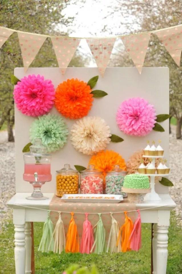 DIY & Feest Styling | Bloemen van tissue papier maken