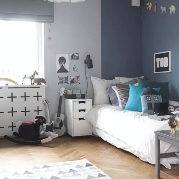 grijze kamer Kinderen