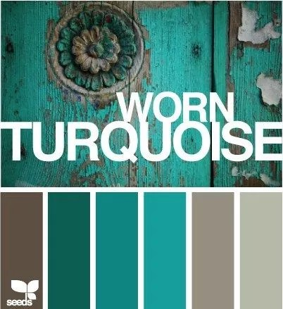 kleur & interieur | turquoise interieur styling • stijlvol styling, Deco ideeën
