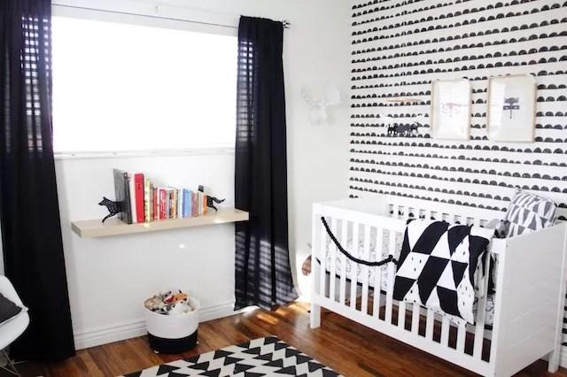 Zwart Wit Kinderslaapkamer : Interieur kids zwart wit babykamer en kinderkamer u stijlvol