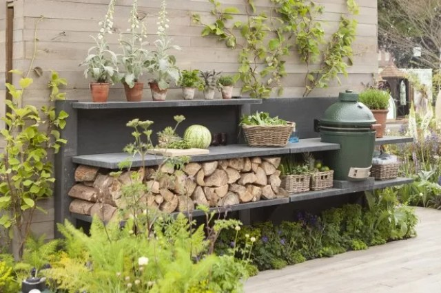 Buitenleven | Buitenkeuken inspiratie #tuin #terras #inrichten #wonen - www.stijlvolstyling.com