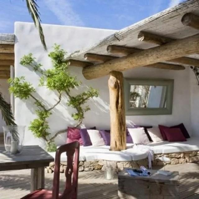Buitenleven | Tuin inrichten Ibiza stijl - www.stijlvolstyling.com