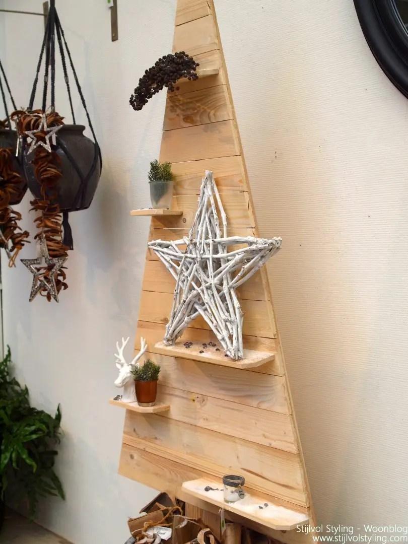 Natuurlijke kersttafel decoratie - Stijlvol Styling woonblog