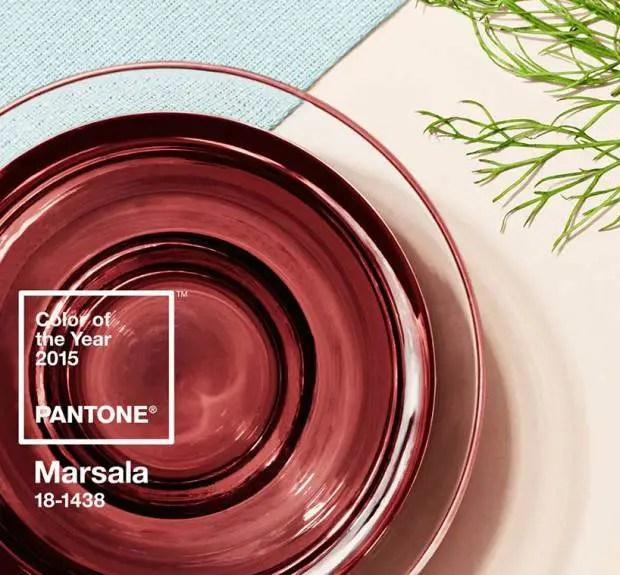 Marsala - Pantone kleur van het jaar 2015