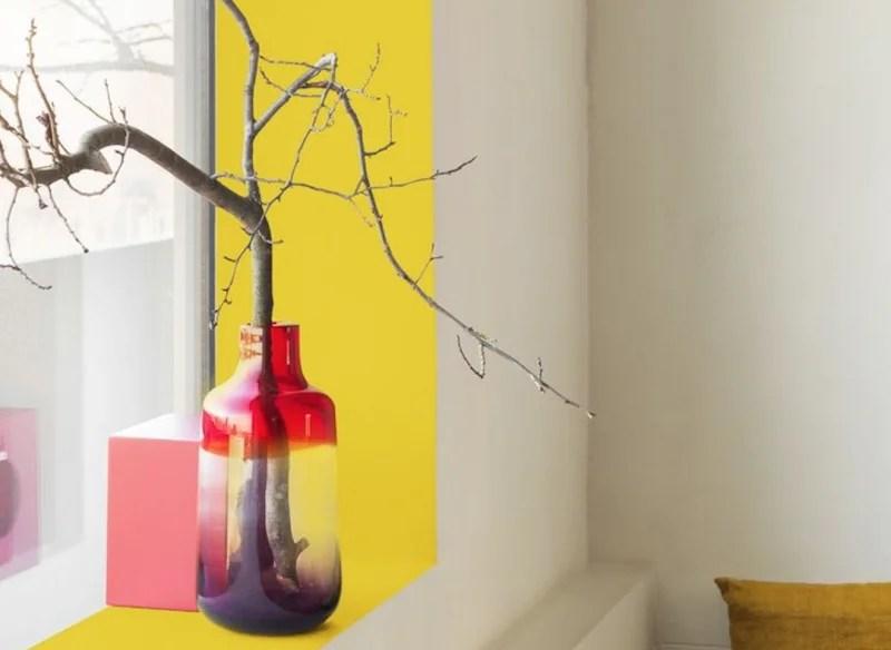 Beeld: Flexa - Futuristisch kleurgebruik en volume - interieur trends 2015 - Stijlvol Styling Woonblog www.stijlvolstyling.com