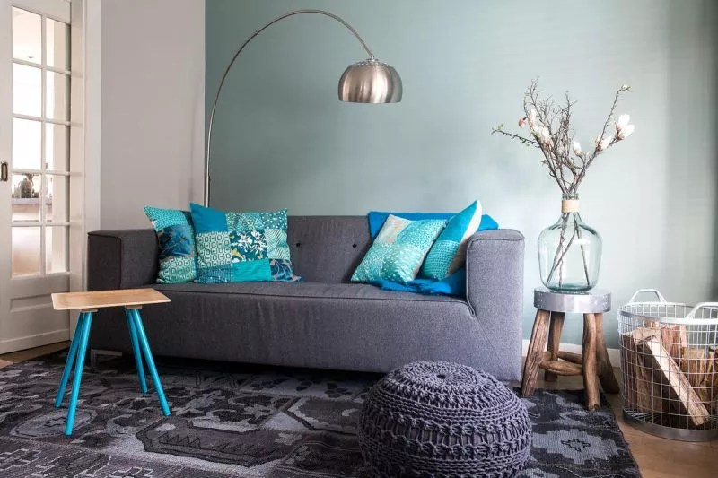 interieur een blauw interieur fris modern of toch chique stijlvol styling woonblog voel je thuis