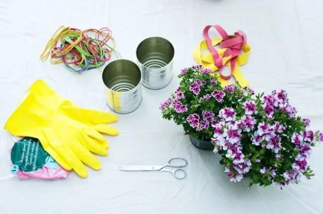 DIY Franse geranium - woonplant van de maand maart - Stijlvol Styling woonblog www.stijlvolstyling.com