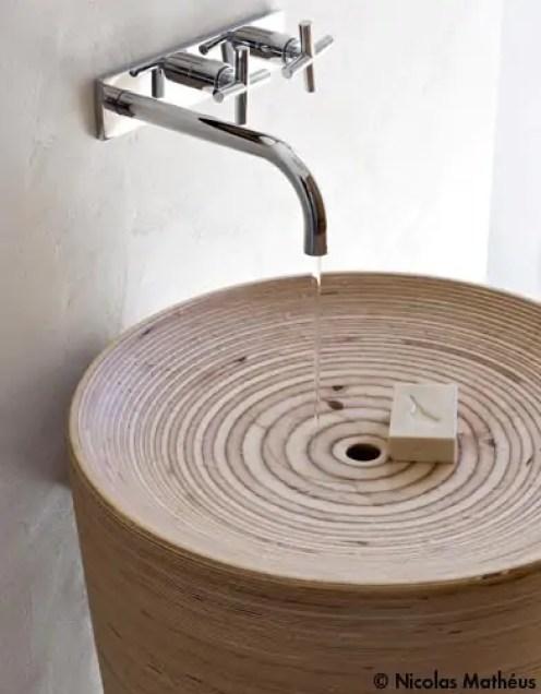 Interieur | Natuurlijke badkamer inspiratie - Stijlvol Styling woonblog www.stijlvolstyling.com