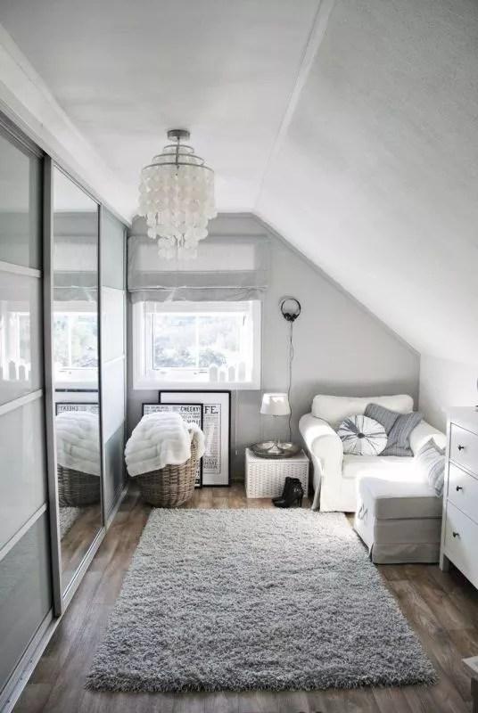 interieur slaapkamer op zolder stijlvol styling woonblog