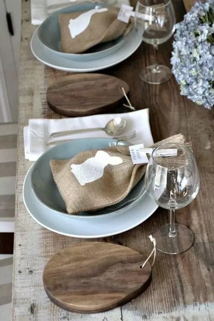 Feestdagen | Rustieke paas tafel - Stijlvol Styling woonblog www.stijlvolstyling.com