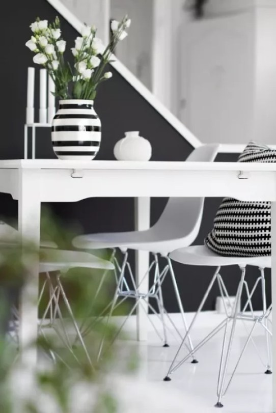 Interieur inspiratie | 15x een stijlvolle zwart wit woonkamer ...