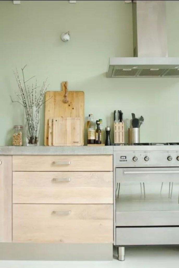Interieur inspiratie | Mintgroen in de keuken • Stijlvol Styling ...