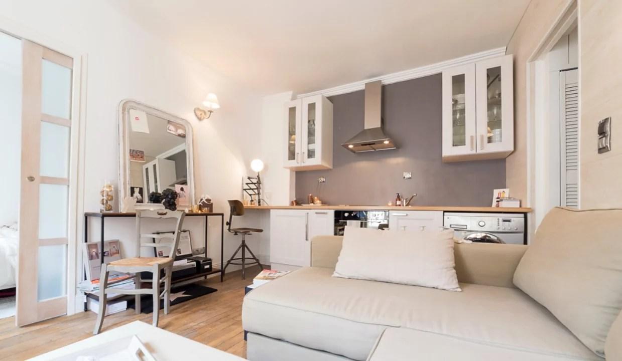 Inrichten Klein Huis : Binnenkijken klein wonen op m in parijs u stijlvol styling