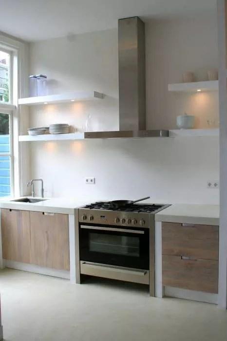 Wandplank Keuken Landelijk.Interieur Inspiratie 10x Wandplanken In De Keuken Stijlvol