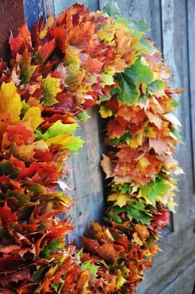 Wonen & Seizoenen | Herfst krans inspiratie - Stijlvol Styling woonblog www.stijlvolstyling.com