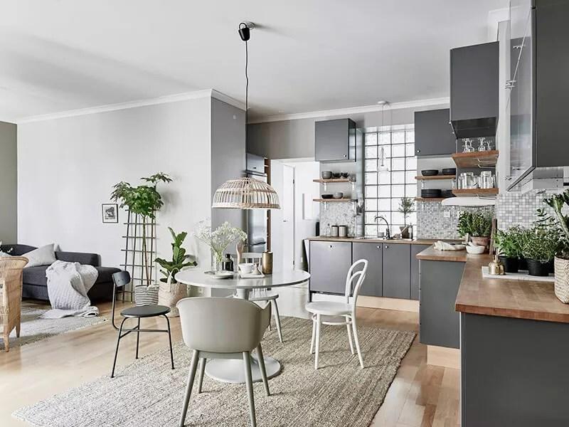 Binnenkijken | Sfeervol interieur in grijs, groen en wit • Stijlvol ...