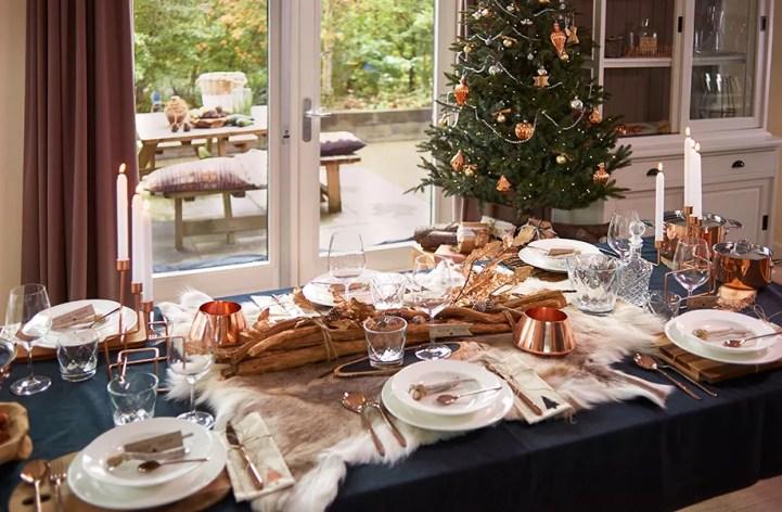 Kersttrends 2015 - Kerst in koper & wit - Woonblog StijlvolStyling.com