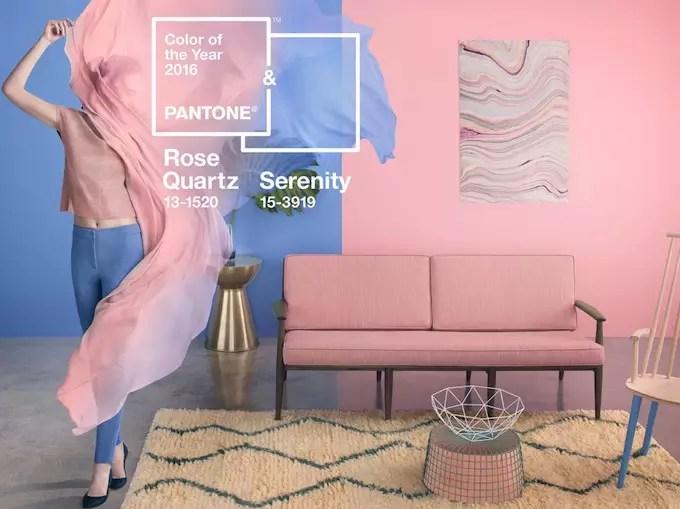 Woontrends 2016 de pantone kleuren 2016 stijlvol for Woontrends 2016