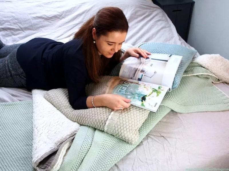 © Woonblog - StijlvolStyling.com   Ontwerp & styling SBZ Interieur Design   Koeka Home Slaapkamer Styling #KoekaHome #interiieur #woonblog