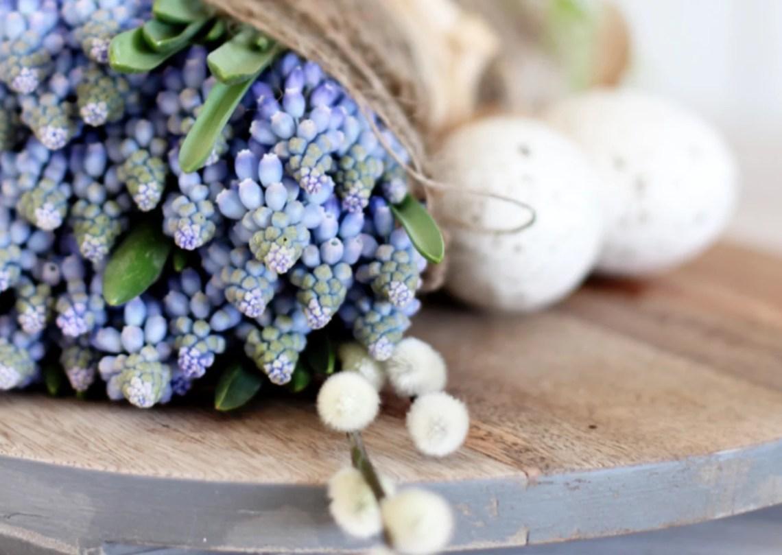 Wonen & seizoenen | Stijlvolle inspiratie voor Paas decoratie. Beeld: Stylizimo