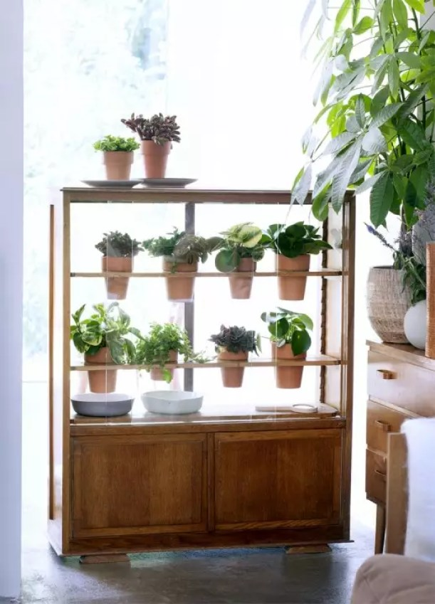 DIY | Van kastje naar plantenkasje - Woonblog StijlvolStyling.com (Urban jungle vintage do it yourself with Peperomia)