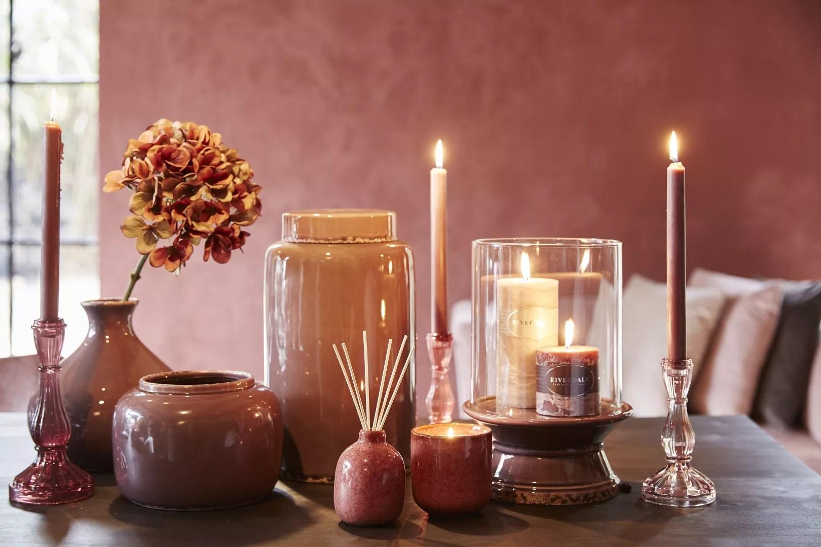 Kleurtrend Roze Interieur : Woontrends warm wijn rood aubergine oud roze u stijlvol