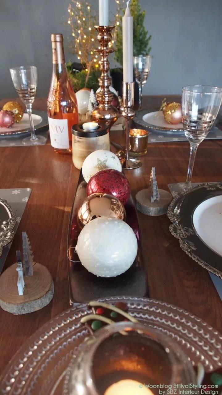 Feestdagen | Chique feesttafel voor kerst of Oud & Nieuw - Woonblog StijlvolStyling.com