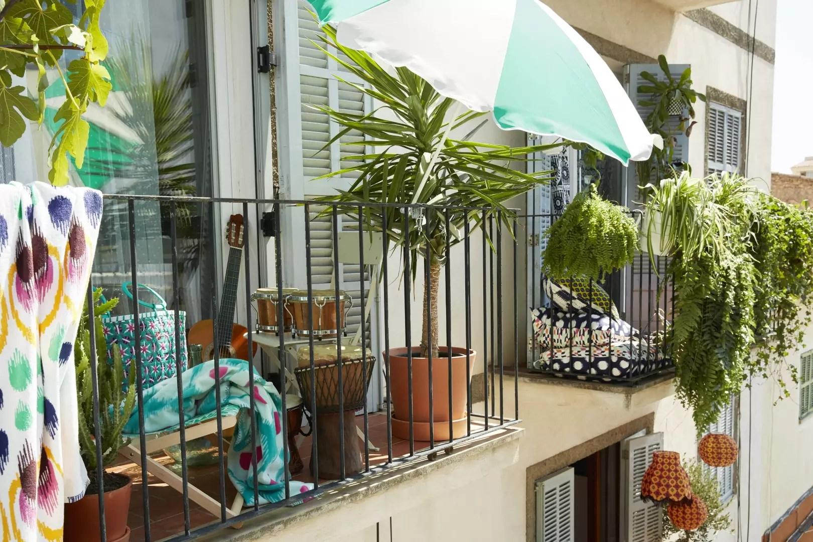 Tuin inspiratie zonnige balkon inspiratie voor een klein balkon