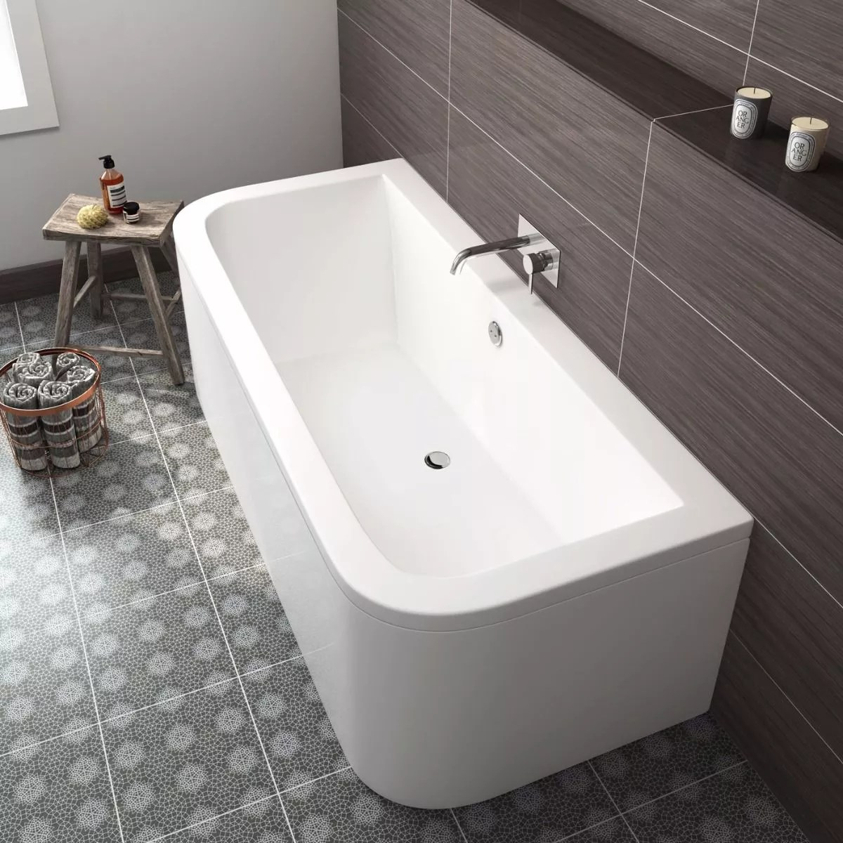 Interieur | Betaalbare luxe baden en accessoires voor de badkamer - Woonblog StijlvolStyling.com