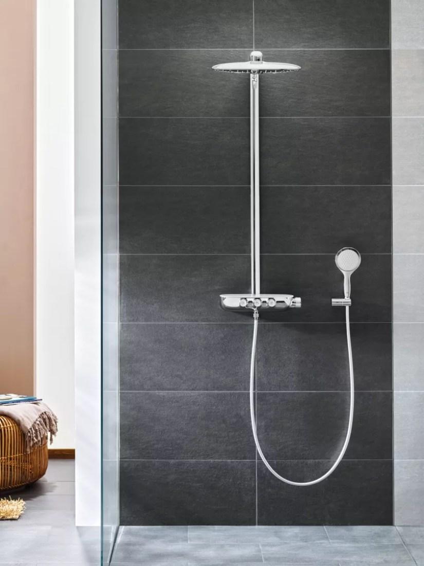 Interieur inspiratie   Een regendouche in de badkamer - Woonblog StijlvolStyling.com