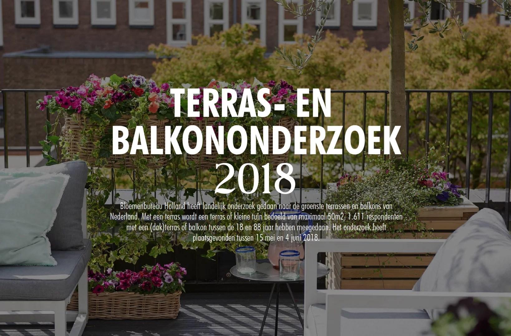Buitenleven | Het grote terras- en balkononderzoek 2018 - 2019 // Lifestyle & woonblog StijlvolStyling.com (Beeld: Bloemenbureau Holland)