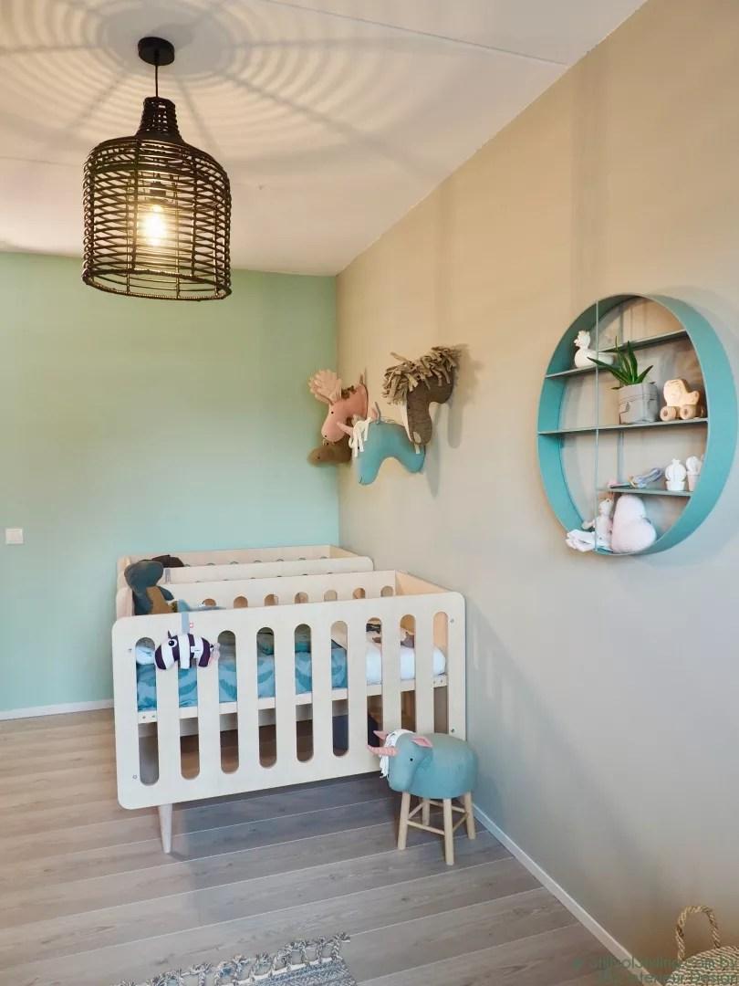 Interieur & kids | Tweeling babykamer make-over & babykamer trends // make-over en video :: SBZ Interieur Design © StijlvolStyling.com - sbzinterieurdesign.nl