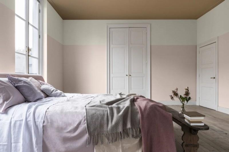 Woontrends 2019 | Dream-palet, dromerige kleuren, wit wonen en aaibare combinaties | Woonblog StijlvolStyling.com by SBZ Interieur Design Photo: Dulux-Colour-Futures-Colour-of-the-Year-2019-A-place-to-dream-Bedroom-Inspiration-Global-BC-77B-P